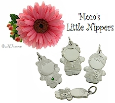 Mom's Little Nippers... a great size for her charm bracelet.